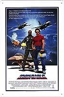 2個 傑作コレクション映画ポスターメタルプレートティンサインウォールシアターデコレーション8 'x12' by Don Jon(A-MFC2485) メタルプレート レトロ アメリカン ブリキ 看板