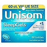 Unisom SleepGels - 60 ct, Pack of 3