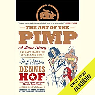 The Art of the Pimp audiobook cover art