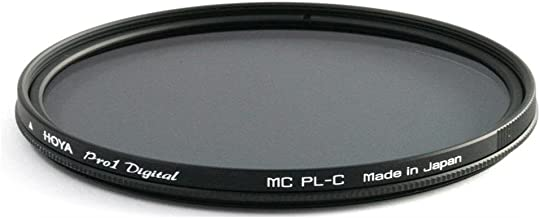 Hoya 58mm Pro-1 Digital Circular Polarizing Screw-in Filter, Black