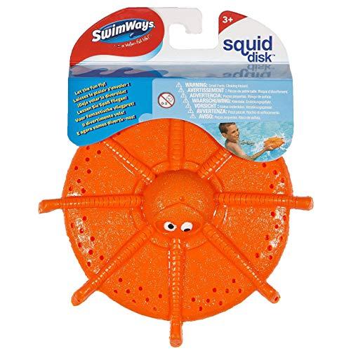 """SwimWays6038050 Tintenfisch-Wurfscheibe """"Squid Disk"""", Spiel fürden Pool, zum Schwimmen und Tauchen, zufällige Farbe"""