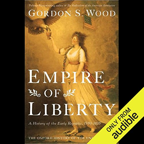 Empire of Liberty audiobook cover art