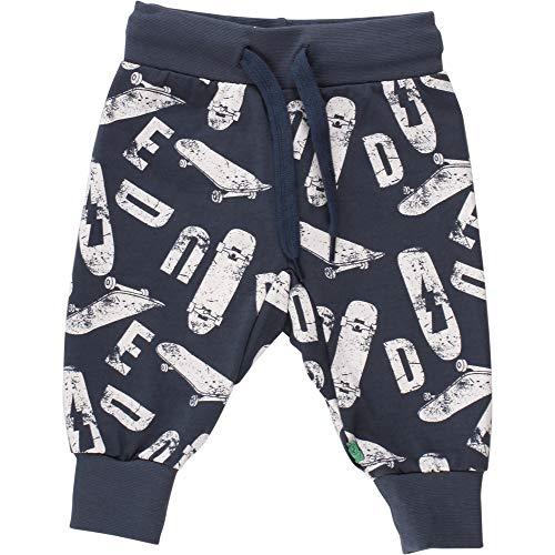 Fred's World by Green Cotton Baby-Jungen Skate Pants Hose, Blau (Midnight 019411006), (Herstellergröße: 92)