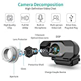 Zoom IMG-2 tedgem webcam 1080p pc con