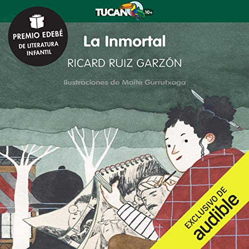 La Inmortal [The Immortal] audiobook cover art