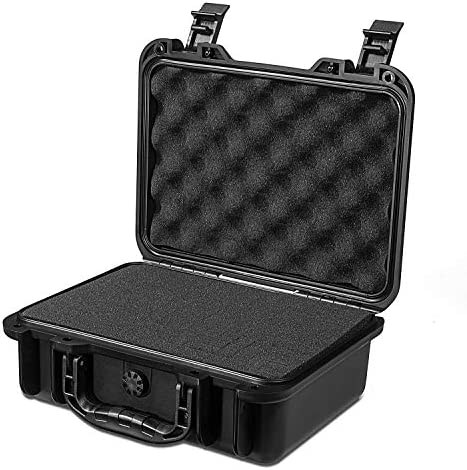 AxiGear Waterproof Airtight Hard Case with DIY Customizable Foam Insert for GoPro Cameras Hard product image