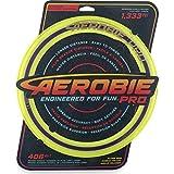 Aerobie Ring Wurfring mit Durchmesser, gelb Pro Flying-Anillo de lanzamiento (33 cm de diámetro), color amarillo, (Spin Master 6046389)