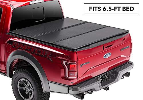Rugged Liner Premium Hard Folding Truck Bed Tonneau Cover | HC-D6509 | fits 09-19 Dodge Ram 1500/2500/3500 & 19 CLASSIC, 6'5' bed