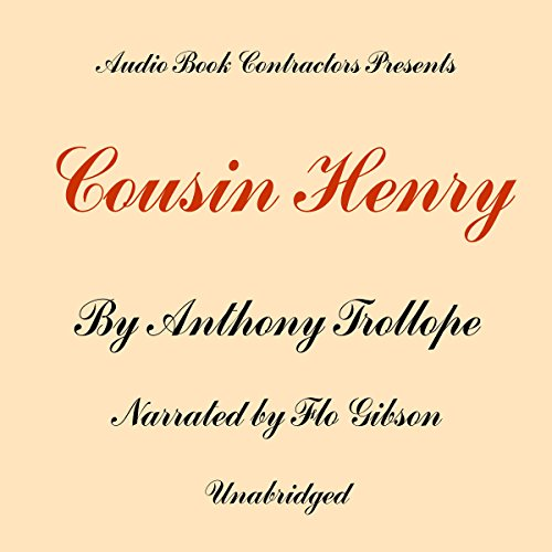 Cousin Henry audiobook cover art