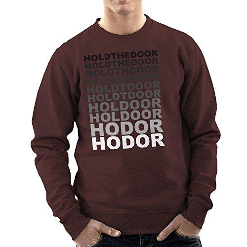 Hodor Hold The Door Fade Game of Thrones Men's Sweatshirt