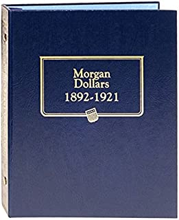 Whitman US Morgan Dollar Coin Album Volume 2 1892 - 1921 #9129