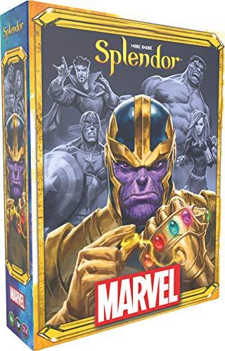 Splendor Marvel Asmodee Gesellschaftsspiel, Strategie- und Entwicklungsspiel