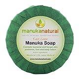 Manuka Honig Seife - Antibakterielle Seife gegen Hautkrankheiten & gereizte Haut - Seife...