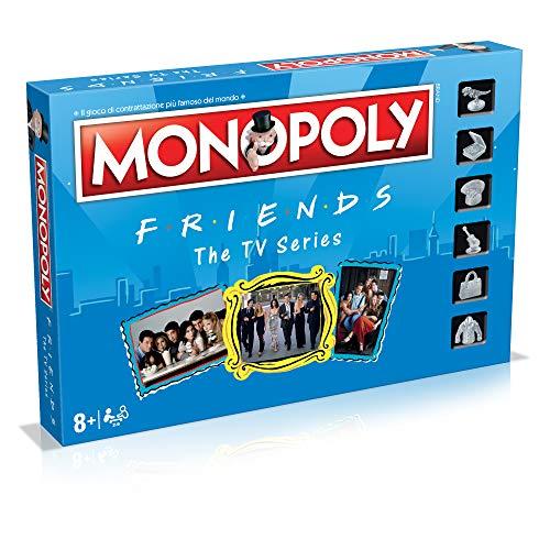 lego friends serie tv Winning Moves- Friends Monopoly Italian Edition