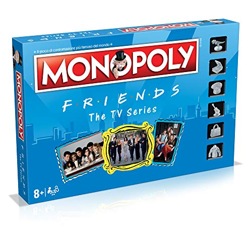 Winning Moves- Friends Monopoly Italian Edition, 036498