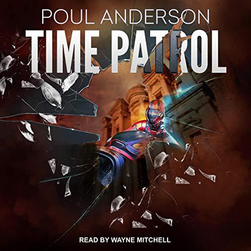 Time Patrol audiobook cover art