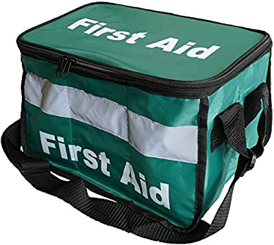 Safety First Aid Group Comprehensive Portable HSE Kit - with shoulder strap (Haversack Bag) from Safety First Aid Group