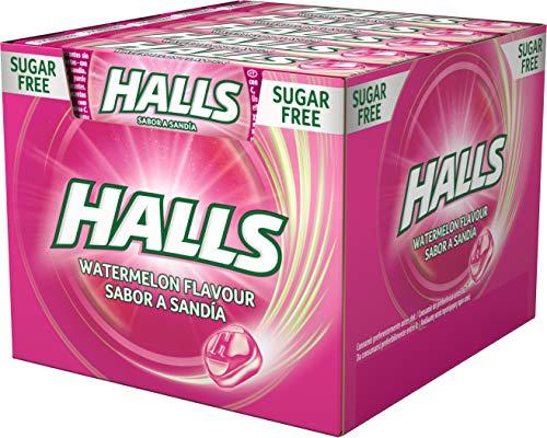 Halls Sandía - Caramelo duro - Caja con 20 Sticks de 32 g