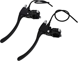 Rfvtgb 1 Pair 2 Bike Brake Lever Handle, Wires Left&Right E-Bike Bicycle Electric Brake Lever Replacement Parts Stable per...
