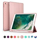 SWEES Compatible iPad Air (3rd Gen) 10.5' 2019 / iPad Pro 10.5 2017 Case, Slim Full Body Protective Smart...