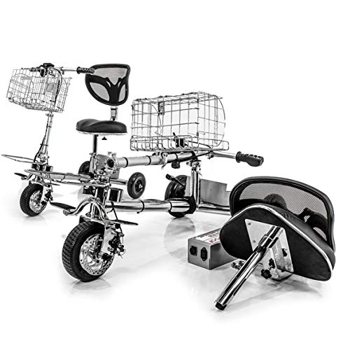 SmartScoot lithium battery, lightweight only 40 lbs. Mobility Scooter