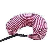 JUAN Pillow Cuscino da Viaggio Cuscino Multifunzionale con Supporto for Il Corpo con Comoda Copertura Traspirante for vagone Ferroviario (Color : C)