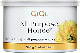 GiGi All Purpose Honee Hair Removal Soft Wax for All Skin and Hair Types, 14 oz