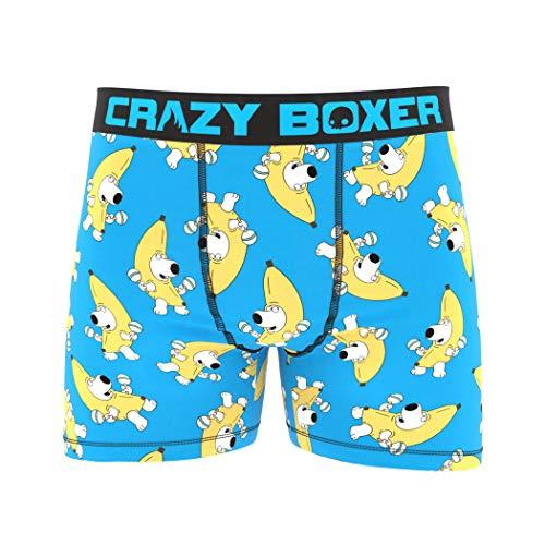 Family Guy Herren Boxershorts Peanut Butter and Jelly Time -  Blau -  Medium