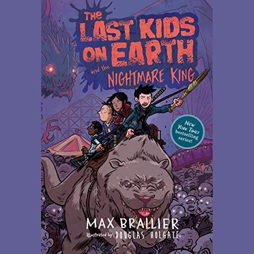 The Last Kids on Earth and the Nightmare King audiobook cover art