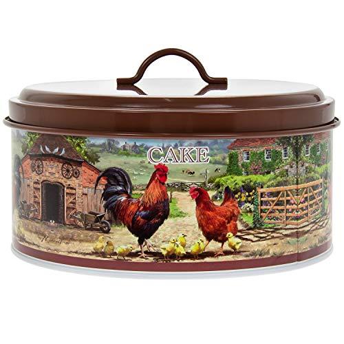 Kuchenform Hahn und Henne