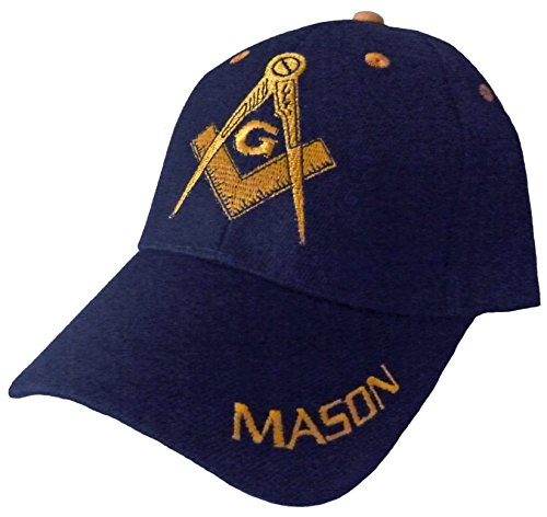 inf Infinity Superstore Blue and Gold Mason Masons Freemason Masonic Lodge Ball Cap Hat