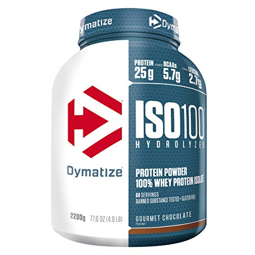 Dymatize ISO 100 Chocolate Coconut 2,2kg - Whey Protein Hydrolysat + Isolat Pulver