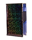 of Course Holographic Glitter Server Book for Waitress and Waiter Zipper Pocket 8x5 Organizer Wallet | 10 Money Pockets | Original 2 Tone Interior | Cute Fits Aprons (Space Age) zipper pulls Mar, 2021