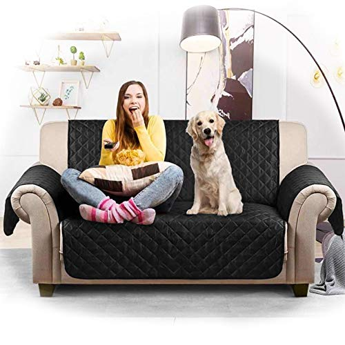 buenos comparativa Funda de sofá impermeable Dido, funda de sofá suave acolchada, protección para mascotas, funda … y opiniones de 2021