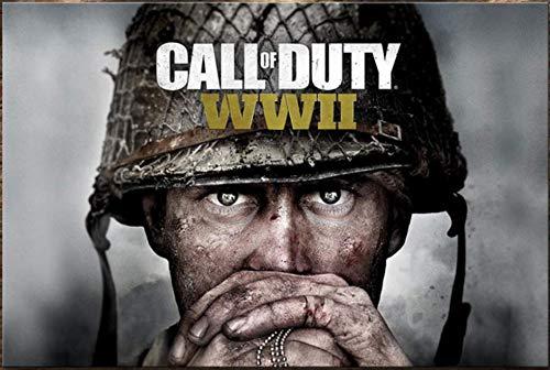 xuyuandass Call of Duty Modern Warfare Game Póster De Lienzo Impresión HD Arte De Bricolaje Mural Moderno Hogar Sala De Estar Decoración Pintura Sin Marco 40X60Cm 3870K