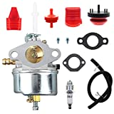 7hp tecumseh carburetor - MOTOALL 631954 Carburetor for Tecumseh 632371 632371A H70 & HSK70 7hp ARIENS for Toro SNOWKING Snow Thrower Blowers Tillers Go-Karts - Replaces for Tecumseh 632371 Carburetor (631954)