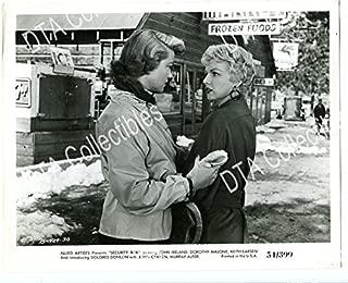 MOVIE PHOTO: SECURITY RISK-8X10-PROMO STILL-DOROTHY MALONE-DOLORES DONLON-1954-ACTION- VG