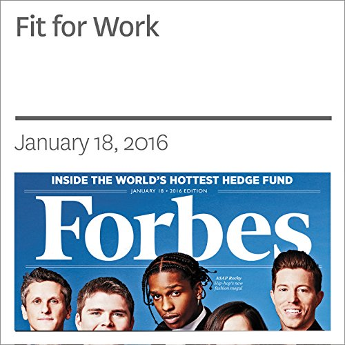 Fit for Work audiobook cover art