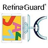 RetinaGuard 2019 iPad 10.2インチ アンチブルーライトスクリーンプロテクター (透明) SGSとIntertekテスト済み 過度の有害なブルーライトをブロック、目の疲れや目の疲れを軽減