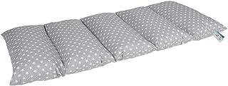 comprar comparacion KNORRTOYS.COM Almohadilla de Almohada, Grey with White Dots-Colchón Plegable
