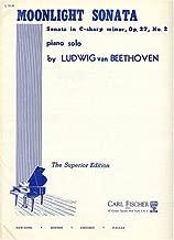 Moonlight Sonata (Sonata Quasi Una Fantasia) Piano Solo, Opus 27, No. 2 (Original Version) Notes in English and German