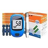 Dytxe-shelf Blutzuckermessgerät Set Mit Teststreifenx 50, Schmerzfrei, Schnell Ergebnis in 7S -...