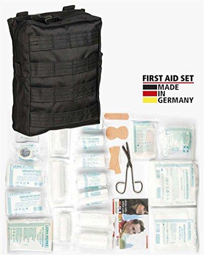 Mil-Tec First Aid Set Leina pro.43-TLG lg schwarz