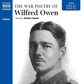 The Great Poets: The War Poetry of Wilfred Owen audiobook cover art