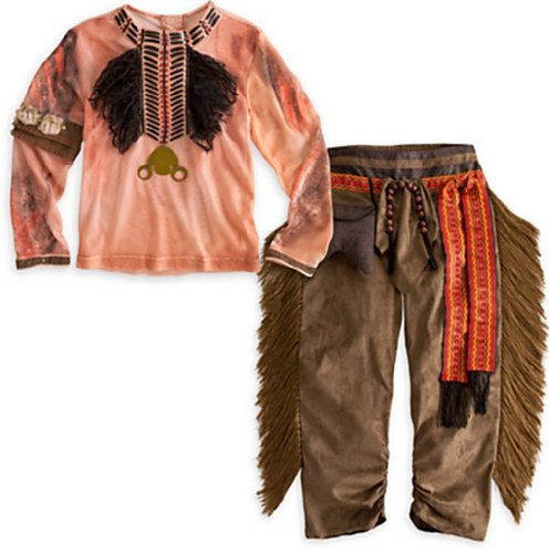 Disney Exclusive The Lone Ranger Deluxe TONTO Costume for Boys (Size 4 (X-Small)) by Disney