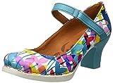 ART 0933 Fantasy Harlem, Escarpins à Bout Fermé Femme, Multicolore (Clovers), 36 EU