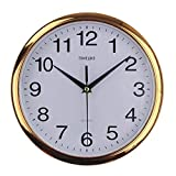 Vintage Rotondo Parete Orologio Moderno Plasitc Orologio Quartz Horloge Retro 10 Pollici O