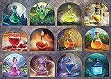 Rompecabezas de pociones mágicas, 1000 piezas, juego de madera para adultos y adolescentes
