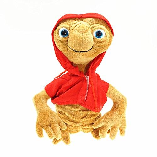 xinya Juguete de Peluche Extraterrestre terrestre Relleno Juguete muñeca de algodón con Sudadera con Capucha coleccionando Juguetes niños Regalo