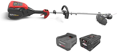 Snapper XD 82V MAX Electric Cordless String Trimmer Kit with 2.0 Battery & Rapid Charger, 1687875, SXD82ZSTK